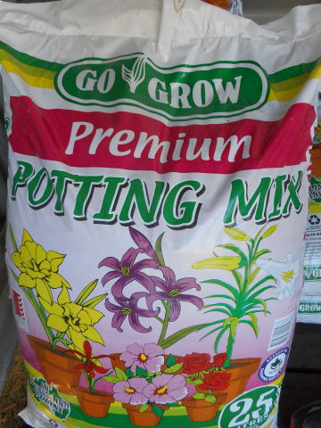 Premium Potting Mix, 25 litre bag
